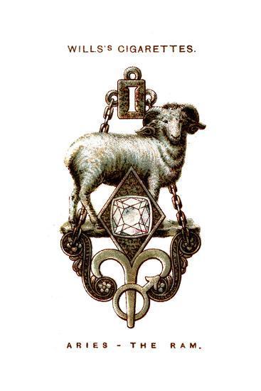 Aries, the Ram, 1923--Giclee Print