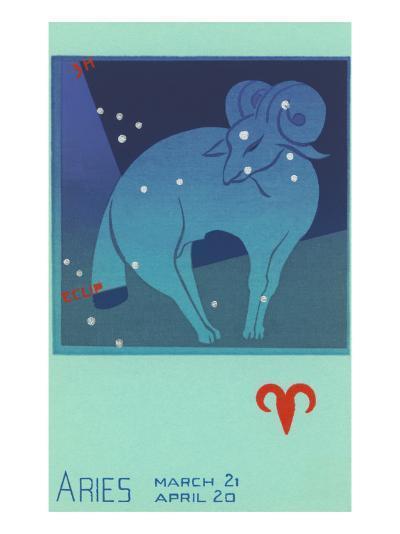 Aries, the Ram--Art Print