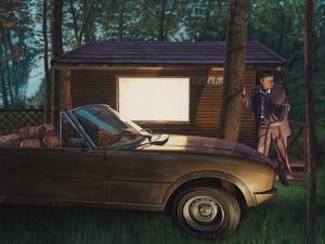 Das Holzhaus, 2006 by Aris Kalaizis