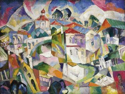Cubist Cityscape, 1910S