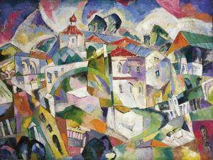 Cubist Cityscape, 1910S by Aristarkh Vasilyevich Lentulov