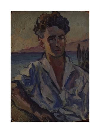 Portrait of the Poet Josef Utkin (1903-194), 1931