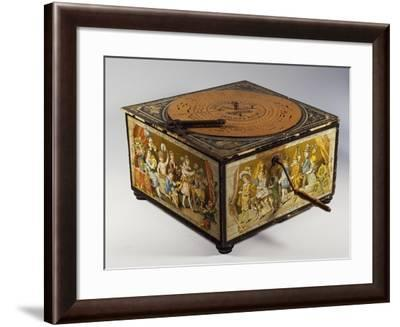 Ariston Music Box, Children in Fancy Dress, Germany, Early 20th Century--Framed Giclee Print