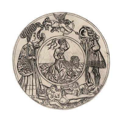 Aristotle and Phyllis-Baccio Baldini-Giclee Print