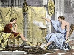 Aristotle Instructing the Young Alexander the Great