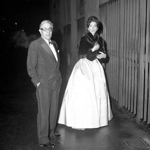 Aristotle Onassis and Maria Callas in Milan, Italy, 1960
