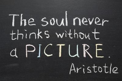 Aristotle Quote-Yury Zap-Art Print