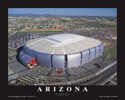 Arizona Cardinals- Glendale, Arizona--Art Print