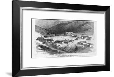 Arizona - Fort Bowie, the Headquarters of General Crook, and the Oldest Garrisoned Post in the Terr--Framed Giclee Print