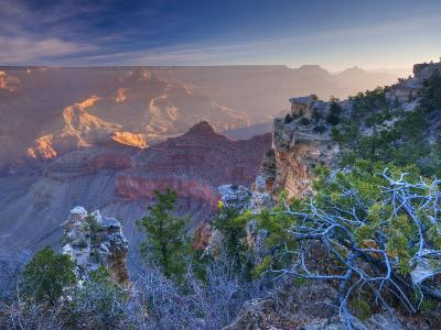 Arizona, Grand Canyon, from Mather Point, USA-Alan Copson-Photographic Print