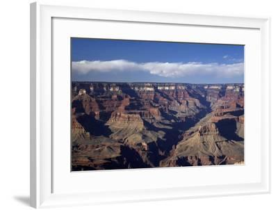 Arizona, Grand Canyon National Park, Grand Canyon Seen from Mather Point-David Wall-Framed Photographic Print