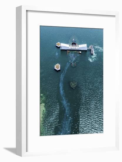 Arizona Memorial-Cameron Brooks-Framed Photographic Print