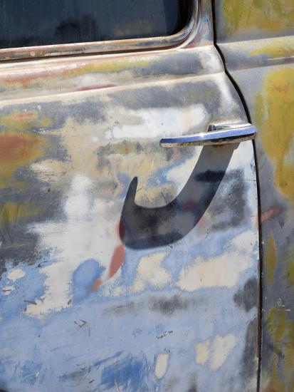 Arizona, Oatman, Route 66, old truck detail-Jamie & Judy Wild-Photographic Print