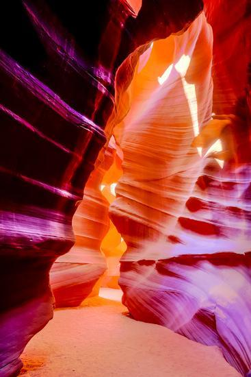 Arizona, Page, Upper Antelope Slot Canyon. Canyon Scenic-Jaynes Gallery-Photographic Print