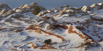 Arizona. Sunrise , Vermillion Cliffs National Monument-Judith Zimmerman-Photographic Print