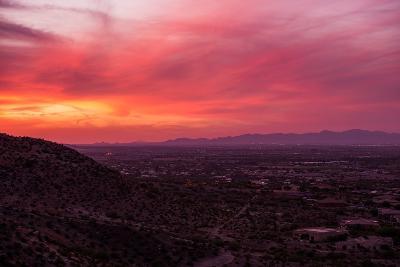 Arizona Sunset Scenery-duallogic-Photographic Print
