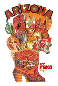 Arizona - Trans World Airlines Fly TWA