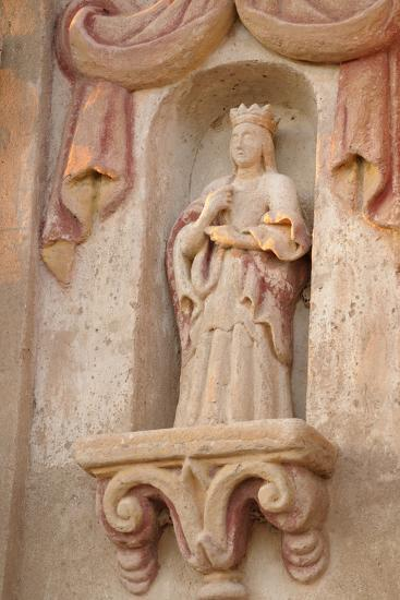 Arizona, Tucson. Facade of the San Xavier Del Bac Mission-Kevin Oke-Photographic Print
