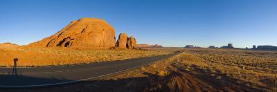 Arizona-Utah, Monument Valley, USA-Alan Copson-Photographic Print