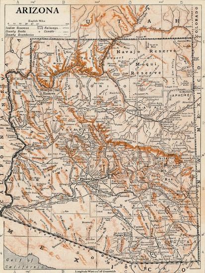 'Arizona'-Unknown-Giclee Print
