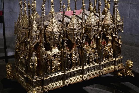 Ark with Ashes of John the Baptist by Teramo Danieli and Simone Caldera--Giclee Print