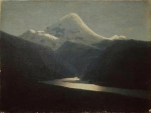At the Mount Elbrus, 1870S by Arkhip Ivanovich Kuindzhi