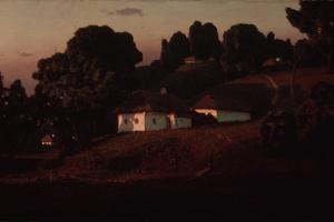 Evening at the Ukraine, 1878 by Arkhip Ivanovich Kuindzhi