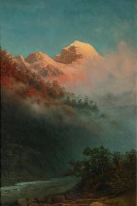 Sunrise by Arkhip Ivanovich Kuindzhi