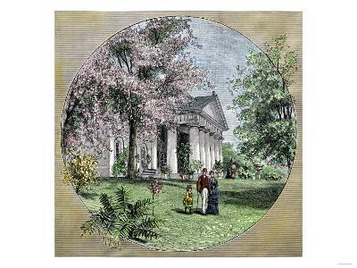 Arlington House, Residence of Robert E. Lee before the Civil War, Virginia--Giclee Print