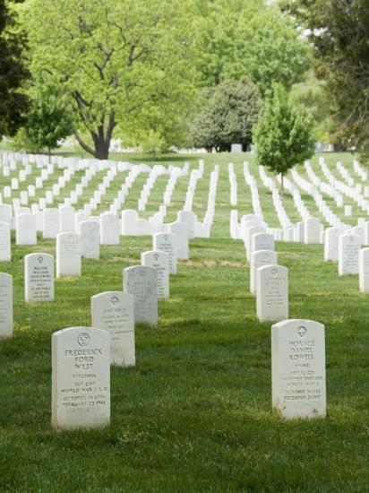 Arlington National Cemetery, Arlington, Virginia, United States of America, North America-Robert Harding-Photographic Print