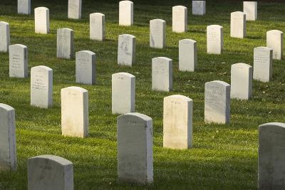 Arlington National Cemetery, Virginia, Usa.-Jon Hicks-Photographic Print