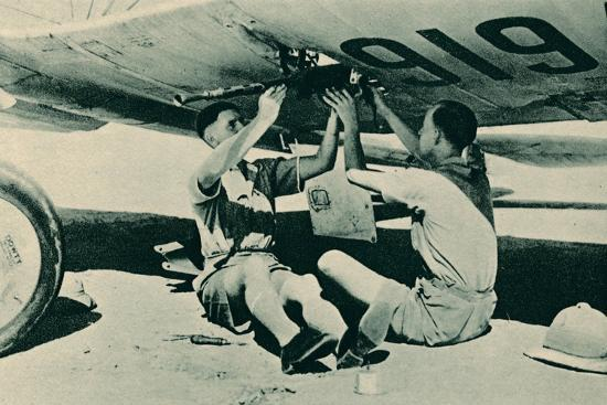 Armament Section at Work, 1940-Unknown-Photographic Print