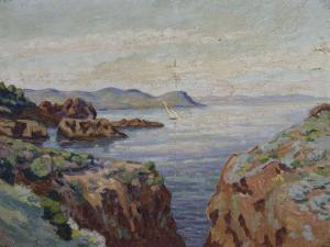 Vers le Mal Infernet (Esterel) by Armand Guillaumin