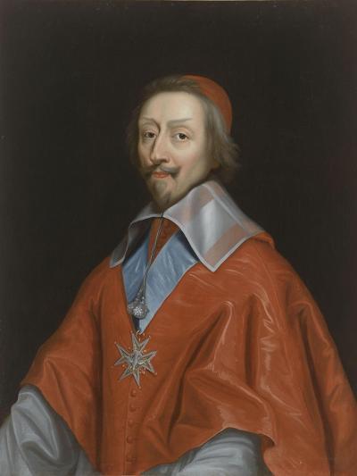 Armand-Jean du Plessis, cardinal de Richelieu (1585-1642)-Philippe De Champaigne-Giclee Print
