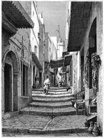 Old Town, Algiers, C1890