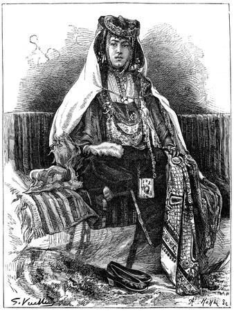 Ouled Nail Dancer, Algeria, C1890