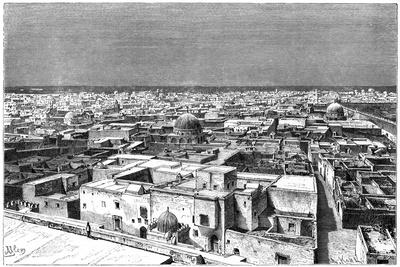 View of Kairwan, Tunisia, C1890