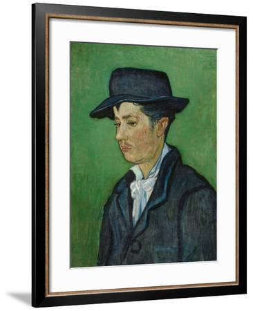 Armand Roulin-Vincent van Gogh-Framed Giclee Print