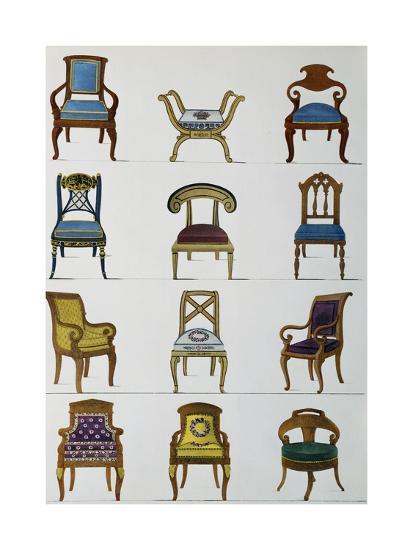Armchairs--Giclee Print