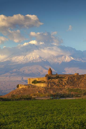 Armenia, Yerevan, Ararat Plain, Khor Virap Armenian Apostolic Church Monastery-Jane Sweeney-Photographic Print
