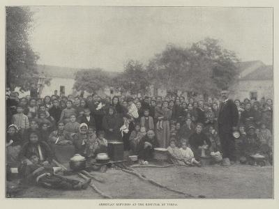 Armenian Refugees at the Hospital at Varna--Giclee Print
