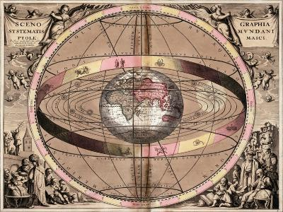Armillary Sphere, 1710-Gerard Valck-Giclee Print