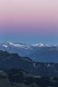 Afterglow over the Prattigau by Armin Mathis