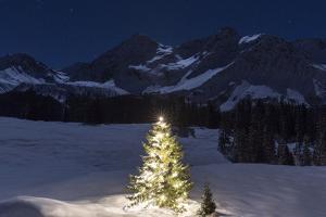 Christmas Mood at Arosa by Armin Mathis