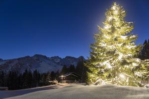 Christmas Mood at Arosa by Armin Mathis