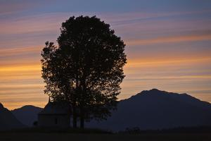 Daybreak in the Churer Rhine Valley by Armin Mathis