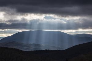 Dramatic Light Mood Near Lincoln, New Hampshire by Armin Mathis