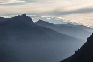 Evening Mood About Klosters by Armin Mathis