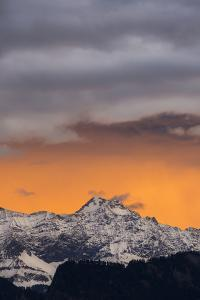 Foehn Mood in the Churer Rhine Valley by Armin Mathis