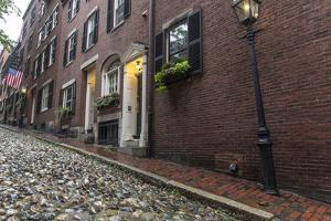 Historical Part of Town of Beacon Hill in Boston by Armin Mathis
